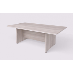 Konferenztisch wels, 2200 x 1200 mm, robinie hell
