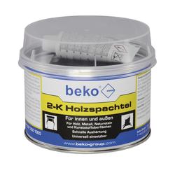 Beko 2-K Holzspachtel 1 kg für innen und außen Spachtelmasse braun ähnl. eiche