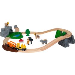 BRIO® Spielzeug-Eisenbahn BRIO® WORLD Safari Bahn Set
