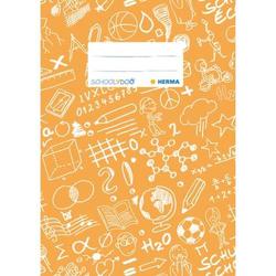 Heftschoner A5 Schoolydoo orange