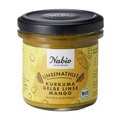 Powerlinse gelb Protein-Aufstrich 140g - Nabio