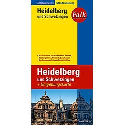 Falk Plan Heidelberg und Schwetzingen - Buch