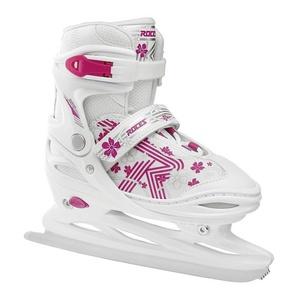 Roces Schlittschuhe Jokey Ice 3.0 Girl, white-pink weiß 30-33