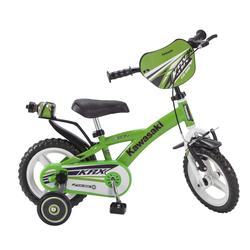 Toimsa Bikes Kinderfahrrad 12 Zoll Kinder Rad Kinderfahrrad Fahrrad Rad Kawasaki Kinder Fahrrad, 1 Gang, Keine Schaltung