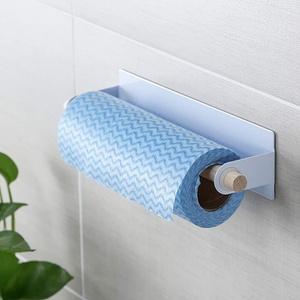 95 Toilettenpapierhalter mit Ablage Klopapierhalter Ohne Bohren Klopapierrollenhalter Papierhalter Klorollenhalter Selbstklebend oder Wandmontage für Badezimmer Toilette Küche, Rostfrei (Weiß)