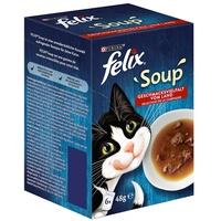 FELIX Soup Geschmacksvielfalt vom Land 6 x 48 g
