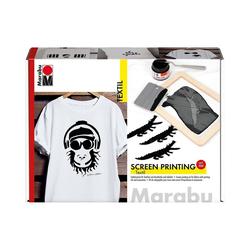 Marabu Textilmarker Textil Siebdruck-Set