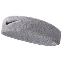 Nike Swoosh Stirnband Silver/Black One Size