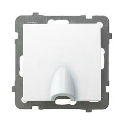 Kabelanschluss - Steckdose weiss Ospel As GPPK-1G/m/00
