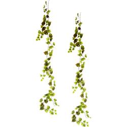 Kunstpflanze Weinranke, I.GE.A., Höhe 160 cm, 2er Set grün