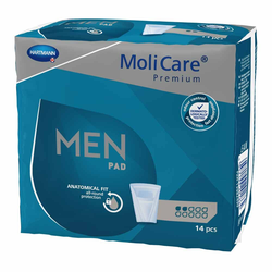 MoliCare Premium Men Pad 2 Tropfen, 14 Stück