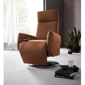 Places of Style Relaxsessel Kobra, in Größe L, wahlweise mit Motor und Aufstehhilfe braun