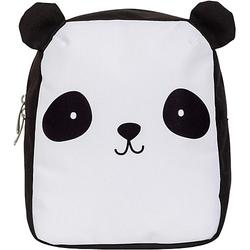 Rucksack klein, Panda weiß-kombi