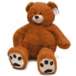 Riesen Teddy Charlie - 100 cm braun