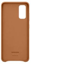 Samsung Leather Cover EF-VG980 für Galaxy S20 brown