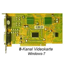 8-Kanal Video Karte Videoaufzeichnung Videocard 240fps audio Windows7 SDVR6808A