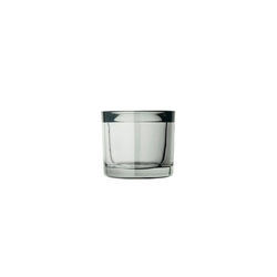 blomus Glas-Windlicht Mimo in smoke, 6,5 cm