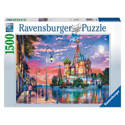 Ravensburger Puzzle Moscow 1500 Teile, Puzzleteile