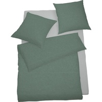 SCHLAFGUT Select Lipari seegrün (155x220+80x80cm)