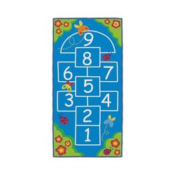 Kinderteppich Spielteppich, La Marelle - Hopscotch, 100 x 200 cm, ACHOKA®
