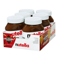 Nutella 750g, 6er Pack