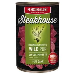 (6,80 EUR/kg) Fleischeslust Steakhouse Wild Pur 410 g