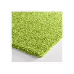 Teppich weiche Microfaser grün ca. 60/90 cm