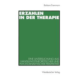 Erzählen in der Therapie: eBook von Barbara Eisenmann