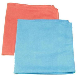 Fenstertuch Microfasertuch für Fenster, blau