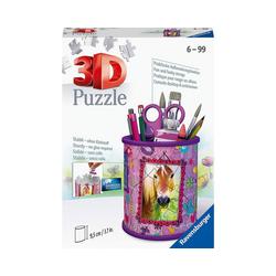 Ravensburger 3D-Puzzle 3D-Puzzle Utensilo Pferde, 54 Teile, Puzzleteile