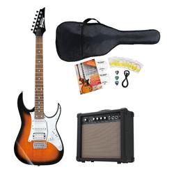 Ibanez GRG140-SB E-Gitarre Set
