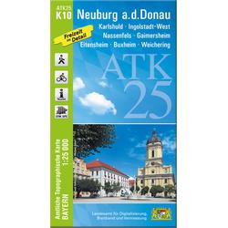 Neuburg an der Donau 1 : 25 000
