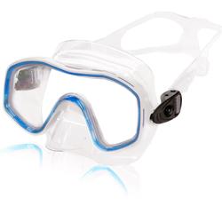AQUAZON Taucherbrille AQUAZON KIDS Junior Schnorchelbrille, Taucherbrille, Schwimmbrille, Tauchmaske für Kinder, von 3-7 Jahren, sehr robust, tolle Paßform blau