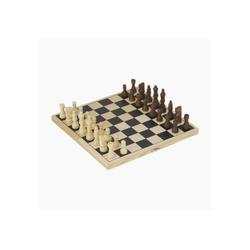 goki Spiel, Reise Schachspiel Schach Kassette, Anfänger Schach für Kinder