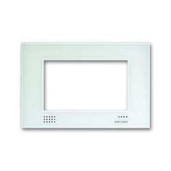 Busch Jaeger 8136/23, Designrahmen, Glas weiß, Busch-Powernet KNX, Touchpanels
