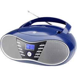 Dual P 60 BT CD-Radio UKW AUX, Bluetooth®, USB Blau