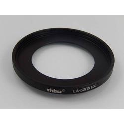 vhbw Filteradapter für Digitalkamera, Systemkamera, Kamera wie Sony LA-52RX100