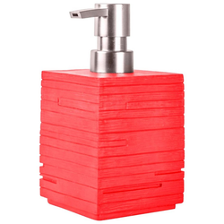 Sanilo Seifenspender Calero, mit stabiler und rostfreien Pumpe rot