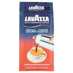 Lavazza Kaffee Crema E Gusto, gemahlen, geeignet für Mokka Herdkanne, 250g