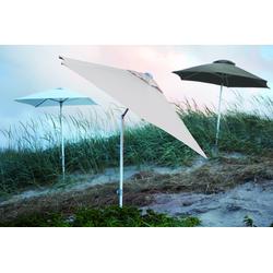 Jan Kurtz Elba / rund 300 cm natur - Sonnenschirm