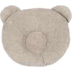 Kopfstütze Panda, beige, 21 x 19 cm