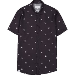 Makia - Ana SS Shirt Dark Blue - Hemden - Größe: S