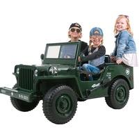 Actionbikes Motors Jeep Willys Kinder Elektroauto Kinderauto Geländewagen elektrisch SUV Allrad 4x4