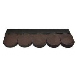 Onduline Dachschindeln Bitumenschindeln Dachschindeln Biber Schindel Glasvlies Dachpappe Bitumen braun 3 m², Biber, 3 m² pro Paket, (14-St)