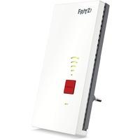 Fritz! Repeater 2400 Netzwerksender & -empfänger Grau, Weiß 10, 100, 1000 Mbit/s