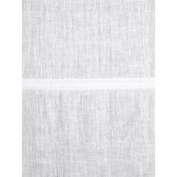 Raffrollo aus Leinen weiß ca. 140/100 cm