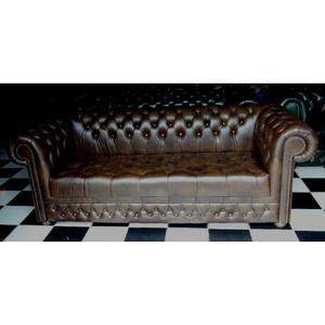Chesterfield Claridge  Sitz Sofa geknöpft