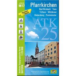 Pfarrkirchen 1 : 25 000