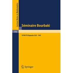 Séminaire Bourbaki als Buch von