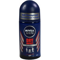 NIVEA MEN DEO ROLL-ON DRY IMPACT